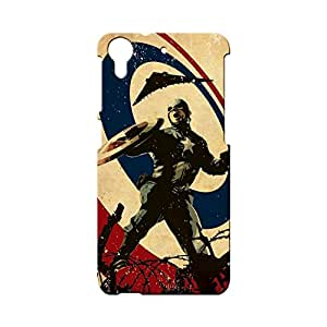 G-STAR Designer Printed Back case cover for HTC Desire 728 - G1875