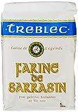 Treblec Farine de Blé de Sarrasin 1 kg - Lot de 5
