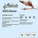Medicate® Stehtischhussen Hussen Stehtische-Bistrotische Stehtischhusse 80x120 cm Grau - 3