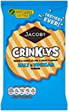 Mcvitie's Baked Mini Cheddars Crinklys Salt and Vinegar Flavour 50 G (pack Of 30)