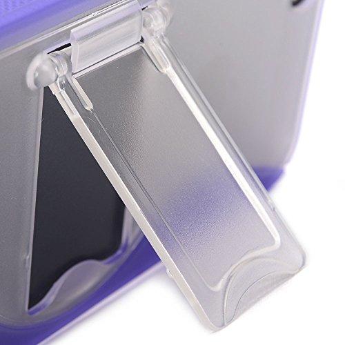 Kroo Coque avec support pour iPhone 5/5S blanc - blanc Violet - violet