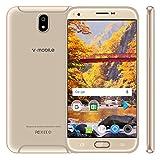 Telefonia Mobile, 3GB RAM + 32GB ROM v·mobile J5 pro Dual SIM Cellulari 5.5 Pollici HD+ Quad Core 8.0MP Fotocamera Android 7.0 Cellulari in Offerta dual sim standby 3G+ rete 3800mAh Oro