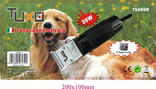 Tosacane 30W Macchina tosatrice professionale per cani con lama di ricambio