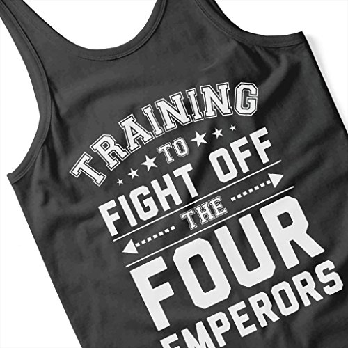 Training To Fight The Four Emperors One Piece Women's Vest Black