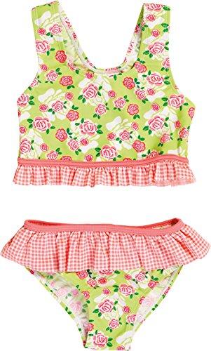 Playshoes Mädchen Zweiteiler Rosen UV - Schutz nach Standard 801, Gr. 86 (Herstellergröße: 86/92), Mehrfarbig (original 900)
