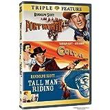 Colt 45 / Fort Worth / Tall Man Riding [DVD] - Randolph Scott, David Brian, Phyllis Thaxter, Helena Carter, Dickie Jones