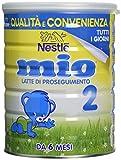 Nestlé Mio 2 Latte di Proseguimento Polvere da 6 Mesi, 6 Confezioni da 800 g