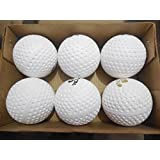Choose 6 - 60 White Balls Set Of Standard Hockey Balls By Forever Online Shopping ( Shipping Free On Rs.500+ Order )
