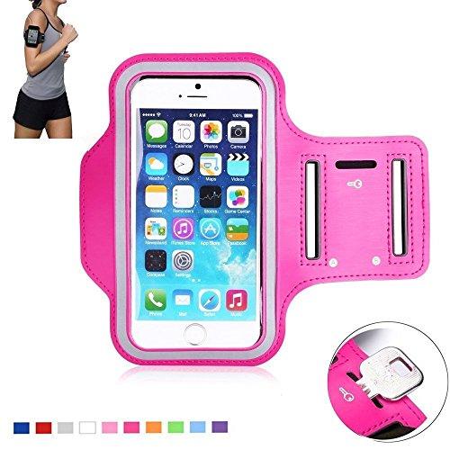 Arm-Handgelenk-Tasche-HOT-PINK-Hlle-iPhone-6s-47