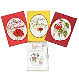 Windesign Stickmuster-Vorlagen CD -- Motiv Geburtstagskarten -- 7 Stickvorlagen -- Freistehende Spitzenstickerei | Stick-Software für Stickmaschinen | Doodle-Stitching Stickdateien für Brother, Bernina, Babylock, Pfaff