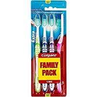 Colgate Xtra Clean Toothbrush Med Value Pack Of 4 ' 12 Units