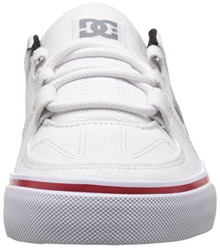 DC - Jungen Lynx Vulc Tx Lowtop Sportschuh Weiß