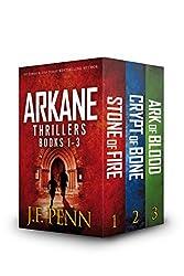 ARKANE Thriller Box-Set 1- 3: Stone of Fire, Crypt of Bone, Ark of Blood (ARKANE Boxset) (English Edition)