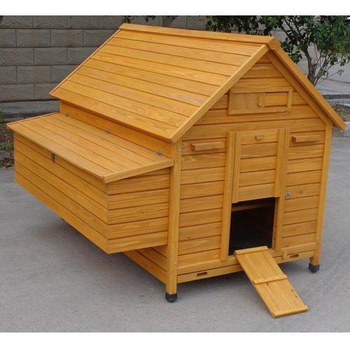 Pollaio in legno a casetta modello cocincina xxxl