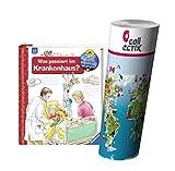 Ravensburger Kinder Sachbuch 4-7 Jahre   Was passiert im Krankenhaus? + Kinder Weltkarte Poster by Collectix