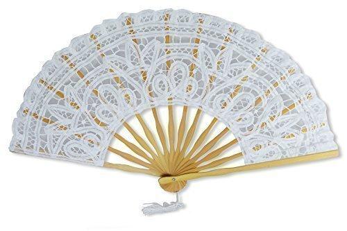 Lace Hand Fan Longitud abierta 50cm / 20
