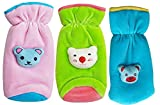 #8: My NewBorn Baby Feeding Bottle Covers Attractive Cartoon- Combo sets (GreenPinkSky)