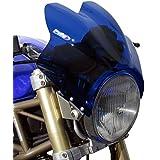 Saute vent Puig Wave bleu pour Suzuki Bandit 600/ 1200, GN 125/ 250, GS 500/ E, GSX 750/ 1200/ 1400, SV 650/ 1000, TU 250 X Volty, VX