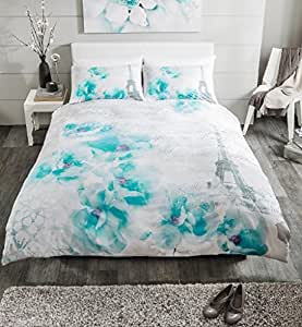 hachette 3 get ntes dream light teal paris king gr e bettw sche bettw sche bettbezug quilt. Black Bedroom Furniture Sets. Home Design Ideas
