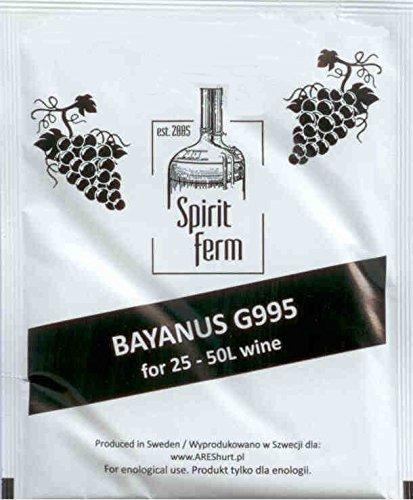 Weinhefe 50L - Hefe für rot & Weiß Wein, Honigwein Hefe, Apfelwein Hefe,Spirit Hefe, AKTIV hefe,...