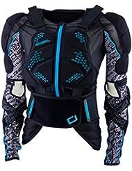 Oneal Madass Chaqueta de Protección, Azul, XL