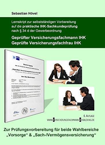 Lernskript zur Vorbereitung auf die praktische IHK-Sachkundeprüfung