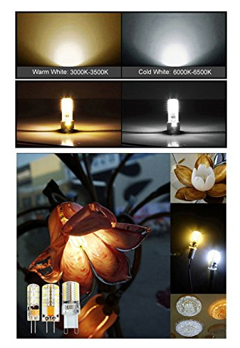 Minger 2 5w g4 led lampen ersatz f r 20w halogenlampen for Lampen 12v 20w