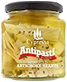 Cypressa Antipasti Marinated Artichoke Hearts 280 g (Pack of 6)