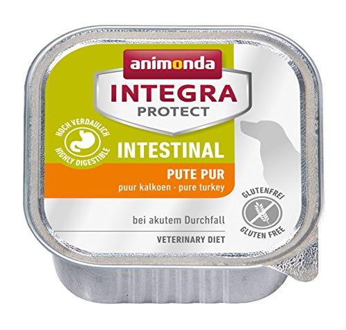 animonda Integra Protect Hunde Intestinal mit Pute | Diät Hundefutter | Nassfutter bei Durchfall oder Erbrechen (11 x 150 g)