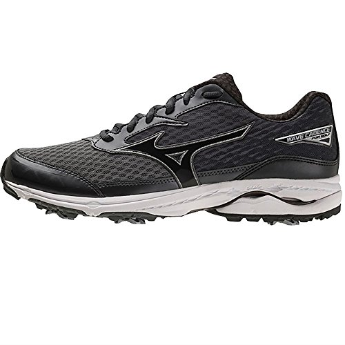 Mizuno 2018 Wave Cadence Water Resistant Spike Herren Golfschuh - Black 9UK