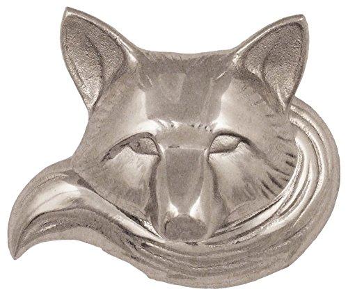Michael Healy Designs mhr76Fox Klingeln, Ringer–Nickel Silber,