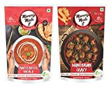 #10: Mommy Made It Ready to eat Readymade Paneer Butter Masala + Manchurian Gravy (Pack of 2)