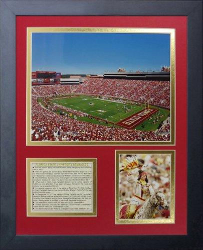 Legenden Sterben Nie Florida State Seminolen Doak Campbell Stadium gerahmtes Foto Collage, 11von 35,6cm - Florida State Doak Campbell Stadium