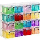 Archives 2000 RUOS16 CS TP Boîte de Stockage carré 16 unités Transparent