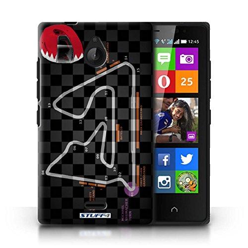 Kobalt® Imprimé Etui / Coque pour Nokia X2 Dual Sim / Monaco/Monte Carlo conception / Série 2014 F1 Piste Bahreïn/Sakhir