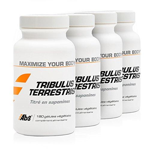 TRIBULUS TERRESTRIS PACK 3+1 GRATUIT | 470 mg / 720 gélules | Energie (fatigue), Performances sportives (douleurs musculaires) | Fabriqué en France