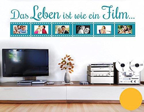 oo Wie Ein Film B x H: 159cm x 40cm Farbe: Gelb ()
