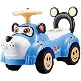 Toyshine Doggy Ride Sports Rider Ride-on Toy With Music, 1.5-3 Years, Assorted Color