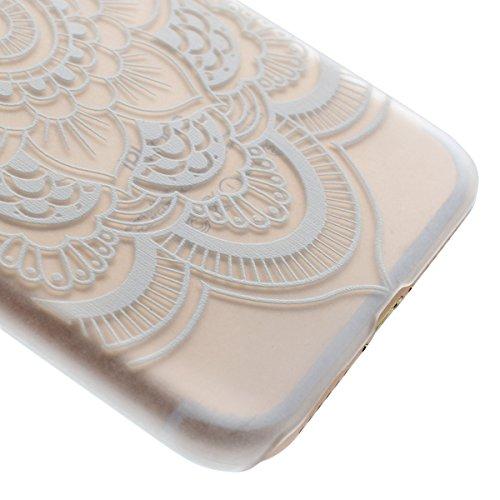 Ekakashop iPhone 7 Rigida Custodia, 2016 Neo Modello 4.7 pollici iPhone 7 Fashion Cover, Bumper Custodia Chiaro Trasparente Ultra Sottile Moda Disegno Copertura Di Caso PC Plastic in Silicone Gel Morb Fiori #4