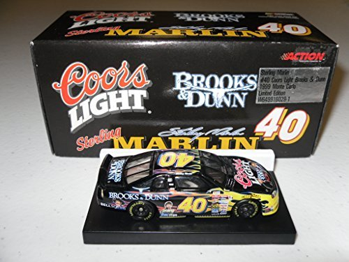 sterling-marling-40-coors-light-brooks-dunn-1999-monte-carlo-limited-edition-164-scale-by-action-rac