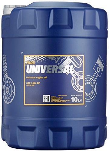 Preisvergleich Produktbild MANNOL Universal 15W-40 API SG / CD Motorenöl,  10 Liter