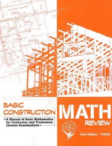 Atlas Construction Math Review by Scott Forde (2007-05-31) par Scott Forde