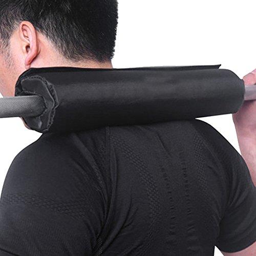 Almohadilla protectora del cuello y del hombro para squats, lunges y hip thrust