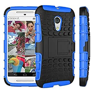 Noise combo case for Moto G2 with kickstand for Moto G2(Blue)
