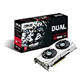 ASUS Dual-fan Radeon RX 480 4GB AMD Gaming Graphics Card with DP 1.4 HDMI 2.0 DUAL-RX480-4G