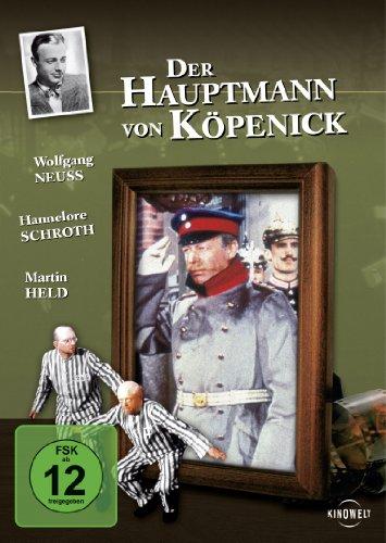 Romantische Filme-dvd (Der Hauptmann von Köpenick)