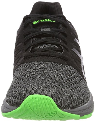 Asics Gel-Exalt 4, Scarpe Running Uomo Nero (Black/carbon/green Gecko 9097)