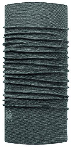 Original Buff 113075.937.10.00 Tubular de Microfibra, Hombre, Gris, Talla Única