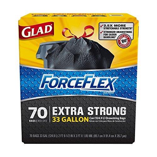2x-glad-forceflex-x-large-trash-bags-70ct-33-gal-by-glad