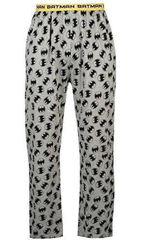 CABALLEROS PERSONAJE Pijama Salón Pantalones - Gris, Medium
